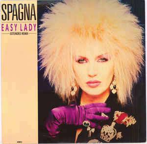 "copertina 45 giri ""easy lady"" di spagna"
