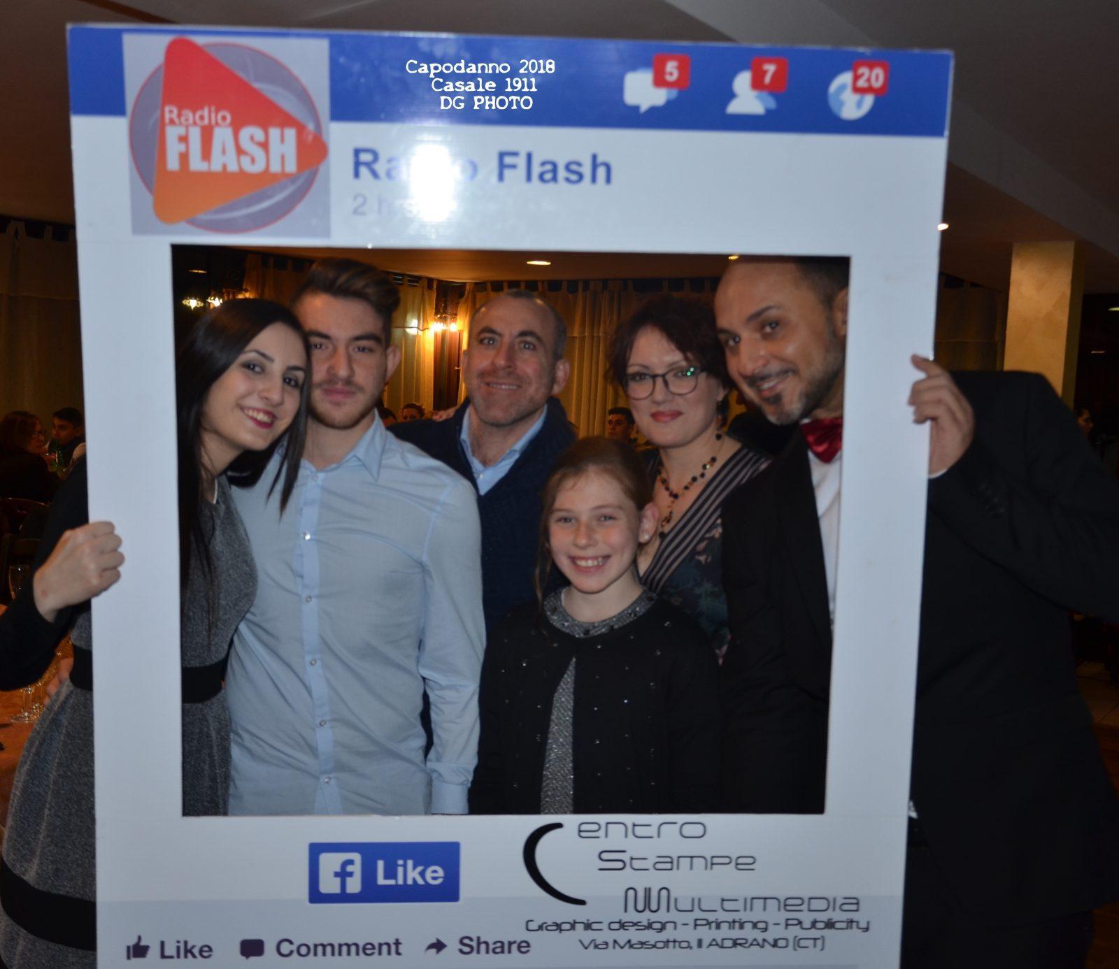 Radio Flash – Capodanno 2018 Casale 1911